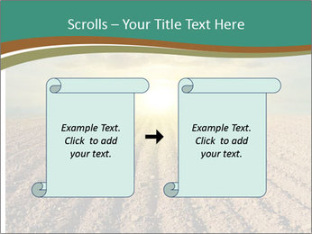 Sunrise In Wineyard PowerPoint Template - Slide 74