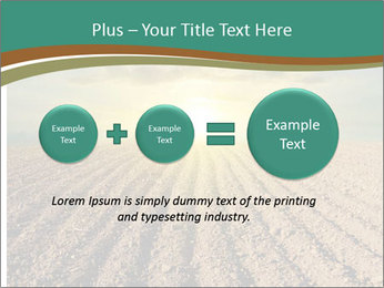 Sunrise In Wineyard PowerPoint Template - Slide 75