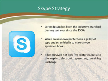 Sunrise In Wineyard PowerPoint Template - Slide 8