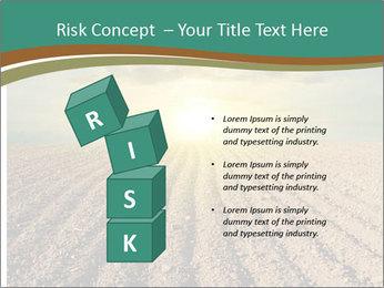 Sunrise In Wineyard PowerPoint Template - Slide 81