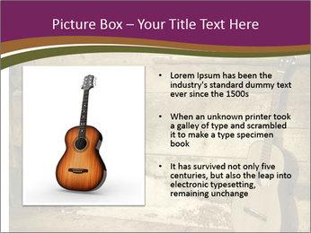 Old Fretboard PowerPoint Template - Slide 13