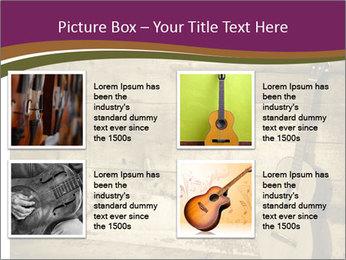 Old Fretboard PowerPoint Template - Slide 14