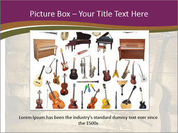 Old Fretboard PowerPoint Template - Slide 15