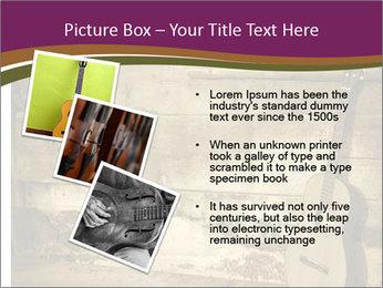 Old Fretboard PowerPoint Template - Slide 17