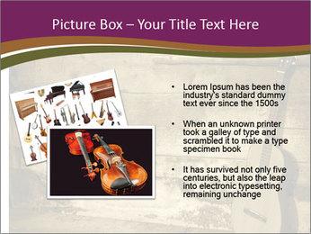 Old Fretboard PowerPoint Template - Slide 20