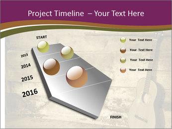 Old Fretboard PowerPoint Template - Slide 26