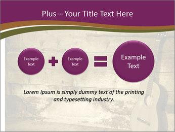 Old Fretboard PowerPoint Template - Slide 75