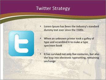 Old Fretboard PowerPoint Template - Slide 9