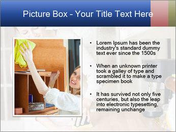 Mama In Kitchen PowerPoint Template - Slide 13