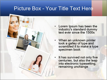 Mama In Kitchen PowerPoint Template - Slide 17