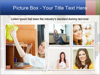 Mama In Kitchen PowerPoint Template - Slide 19