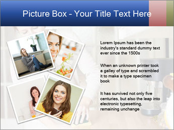 Mama In Kitchen PowerPoint Template - Slide 23