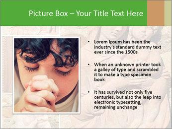 Antique Saint Mary Art PowerPoint Template - Slide 13