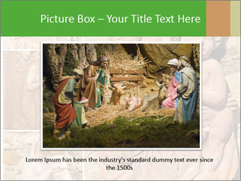 Antique Saint Mary Art PowerPoint Template - Slide 15