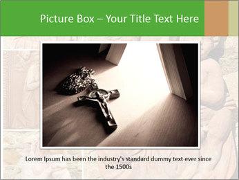 Antique Saint Mary Art PowerPoint Template - Slide 16