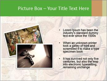 Antique Saint Mary Art PowerPoint Template - Slide 20