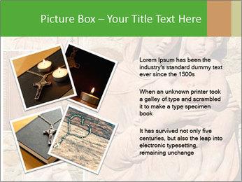 Antique Saint Mary Art PowerPoint Template - Slide 23