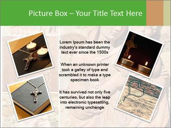 Antique Saint Mary Art PowerPoint Template - Slide 24