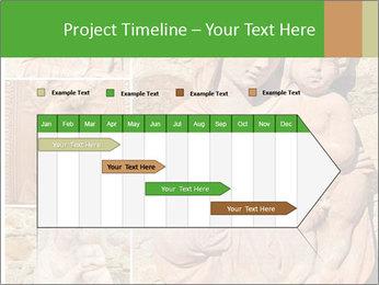 Antique Saint Mary Art PowerPoint Template - Slide 25