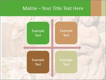 Antique Saint Mary Art PowerPoint Template - Slide 37
