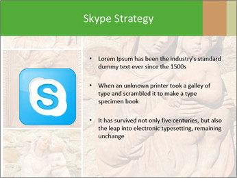 Antique Saint Mary Art PowerPoint Template - Slide 8