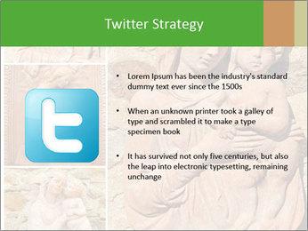 Antique Saint Mary Art PowerPoint Template - Slide 9