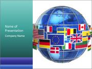 Global World PowerPoint Template