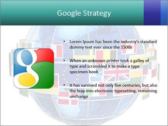 Global World PowerPoint Template - Slide 10