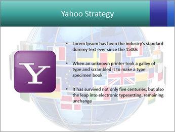 Global World PowerPoint Template - Slide 11