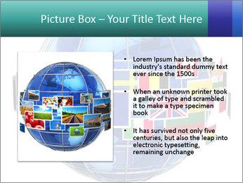 Global World PowerPoint Template - Slide 13