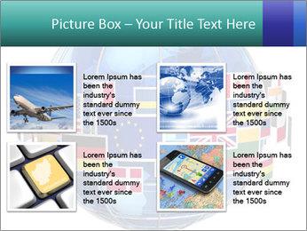 Global World PowerPoint Template - Slide 14