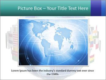 Global World PowerPoint Template - Slide 15