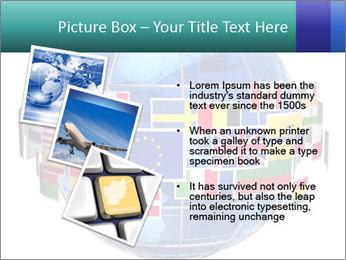 Global World PowerPoint Template - Slide 17