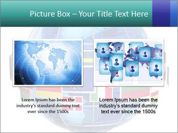 Global World PowerPoint Template - Slide 18
