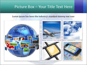 Global World PowerPoint Template - Slide 19