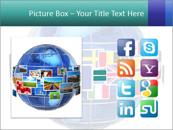 Global World PowerPoint Template - Slide 21