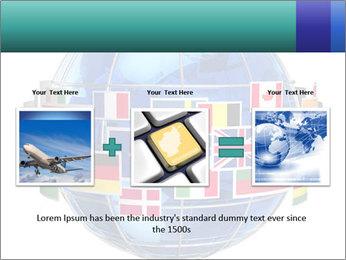 Global World PowerPoint Template - Slide 22