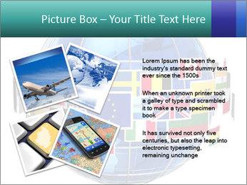 Global World PowerPoint Template - Slide 23