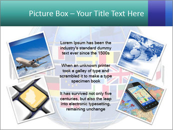 Global World PowerPoint Template - Slide 24
