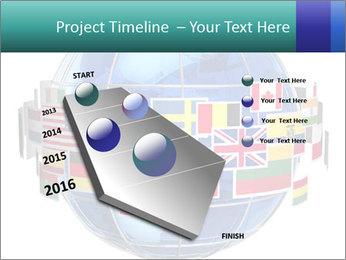 Global World PowerPoint Template - Slide 26