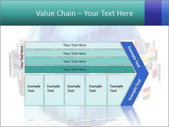 Global World PowerPoint Template - Slide 27