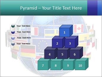 Global World PowerPoint Template - Slide 31