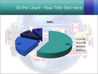 Global World PowerPoint Template - Slide 35