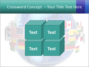 Global World PowerPoint Template - Slide 39