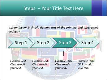 Global World PowerPoint Template - Slide 4