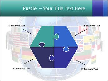 Global World PowerPoint Template - Slide 40