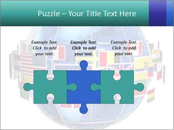 Global World PowerPoint Template - Slide 42