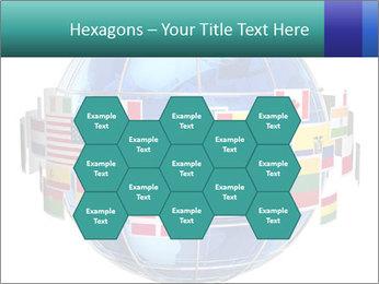 Global World PowerPoint Template - Slide 44