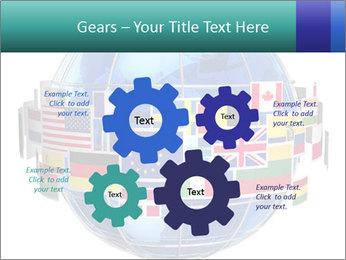 Global World PowerPoint Template - Slide 47