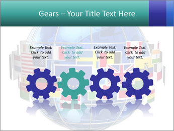 Global World PowerPoint Template - Slide 48
